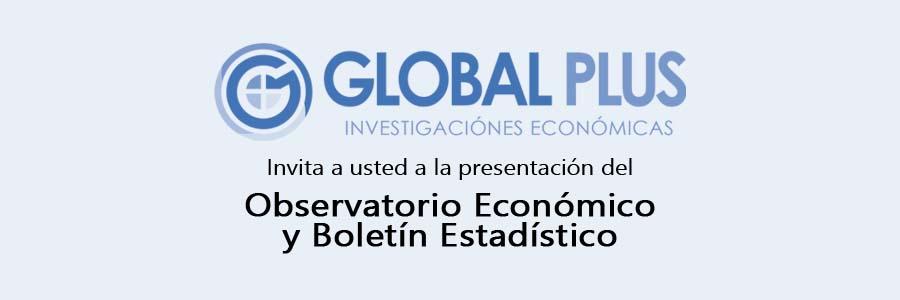 Presentación del Observatorio económico y Boletín estadístico